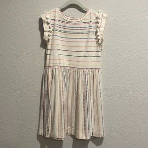 Anthem of the Ants Rainbow Tassel Dress Girls 12
